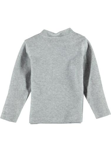 Locopop Tişört Gri